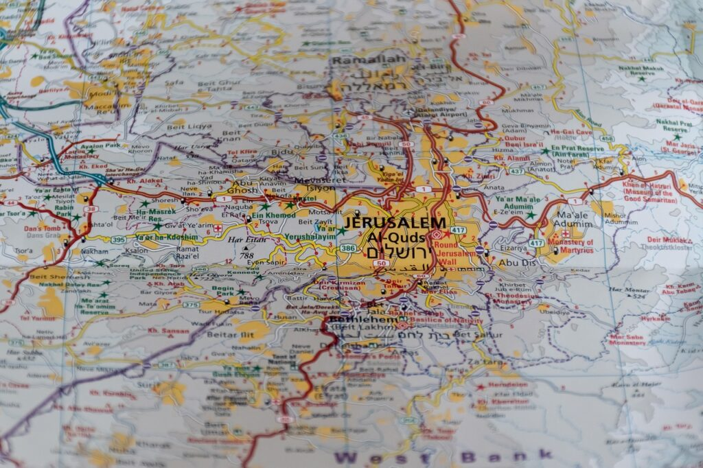 Jerusalm Map